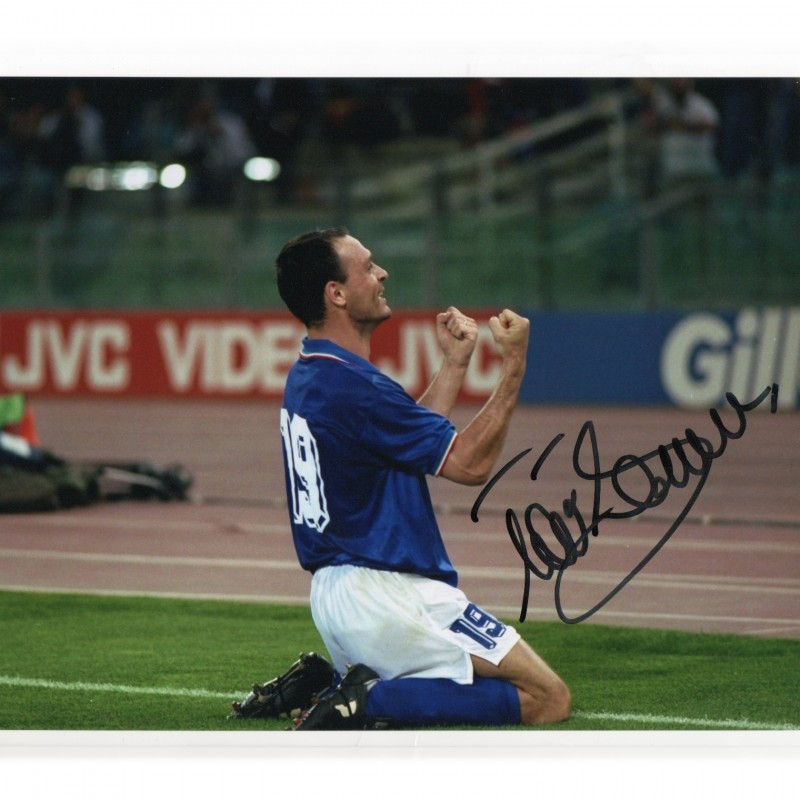 Salvatore Schillaci Signed Photograph