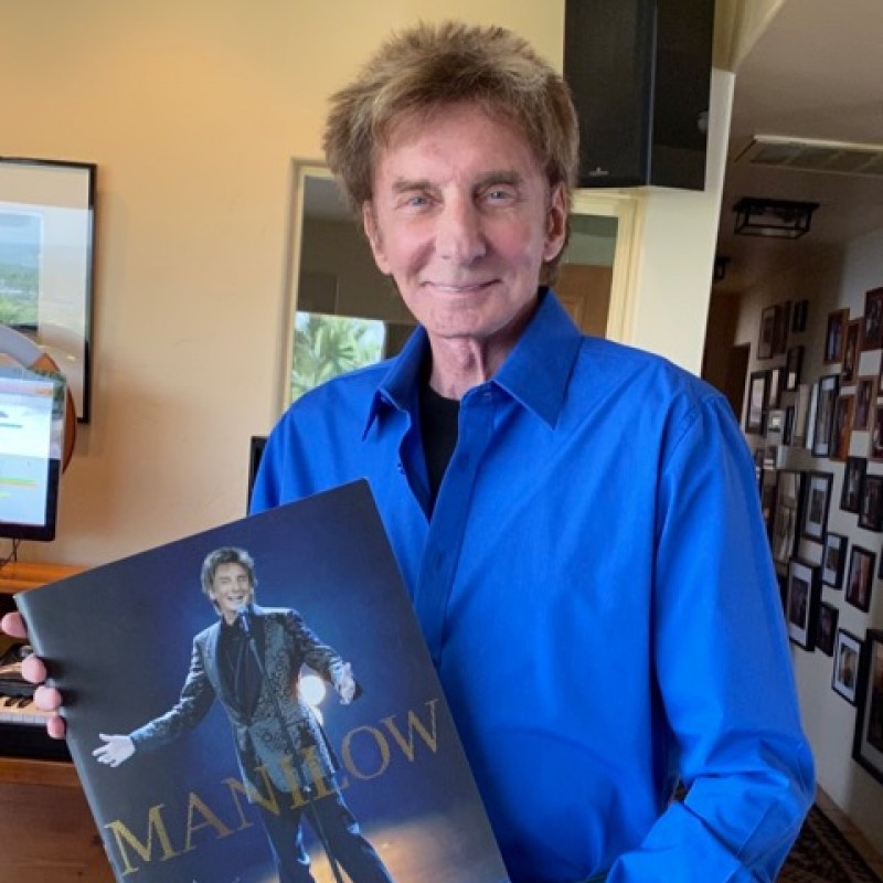 Barry Manilow Signed Tour Program