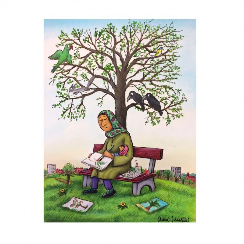 """Trees of Home"" by Axel Scheffler"
