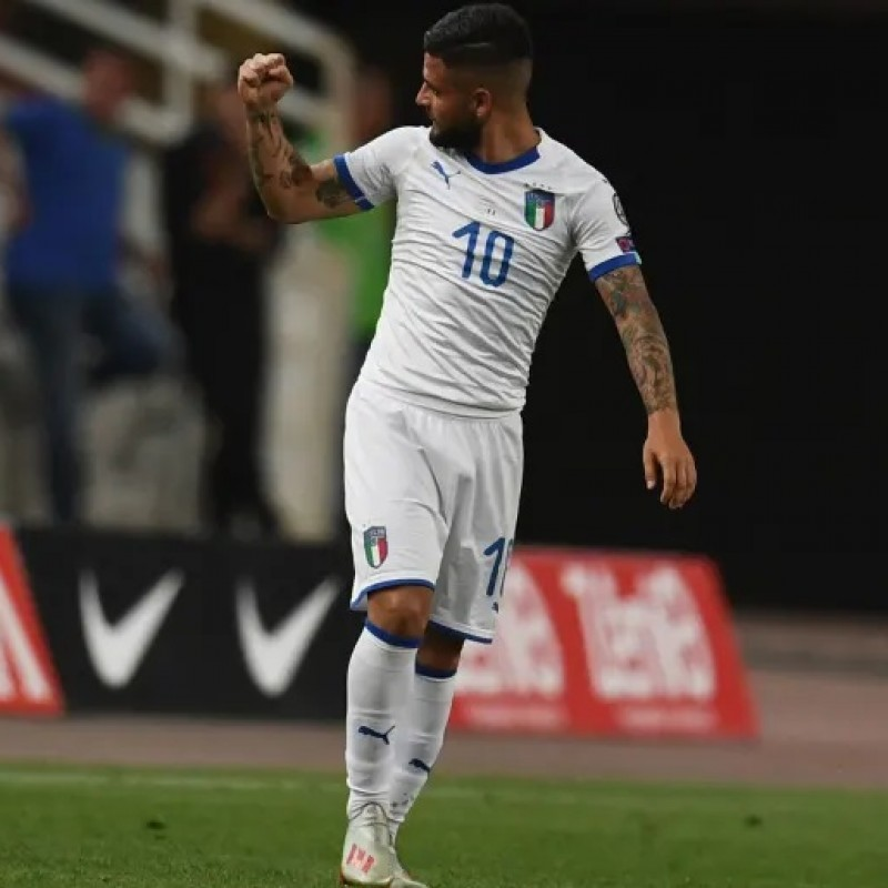 Insigne's Match Shirt, Greece-Italy 2019