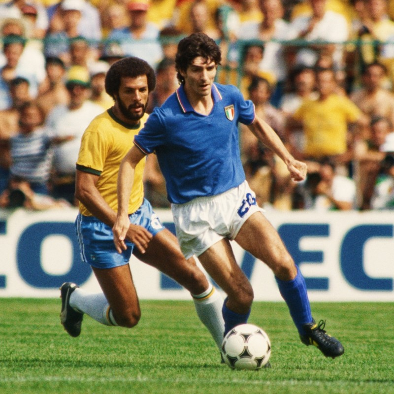 Paolo Rossi's Match Shirt, 1980s