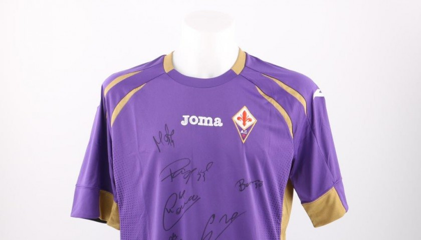 d37cff00b81 AC Fiorentina official replica shirt signed by the players - CharityStars