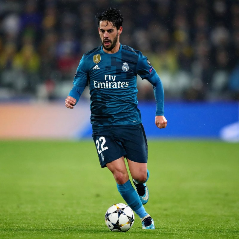 Isco's Match-Issued Shirt,  Juventus-Real Madrid 2018