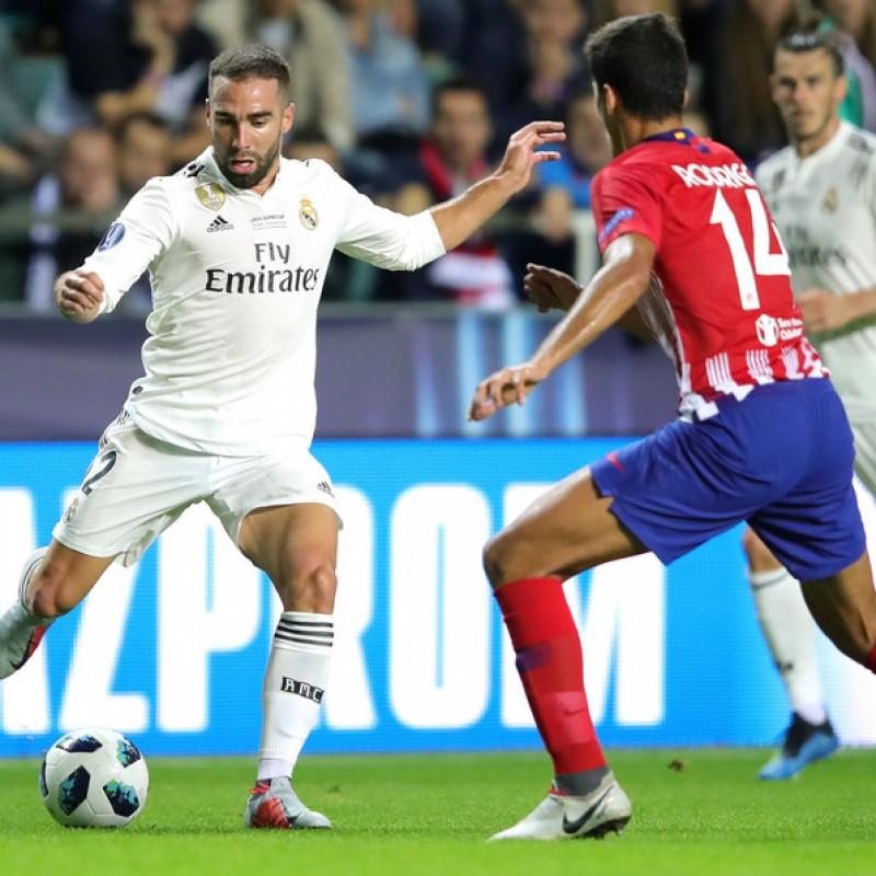Rodri's Atletico Madrid Match Shirt, UEFA Super Cup 2018