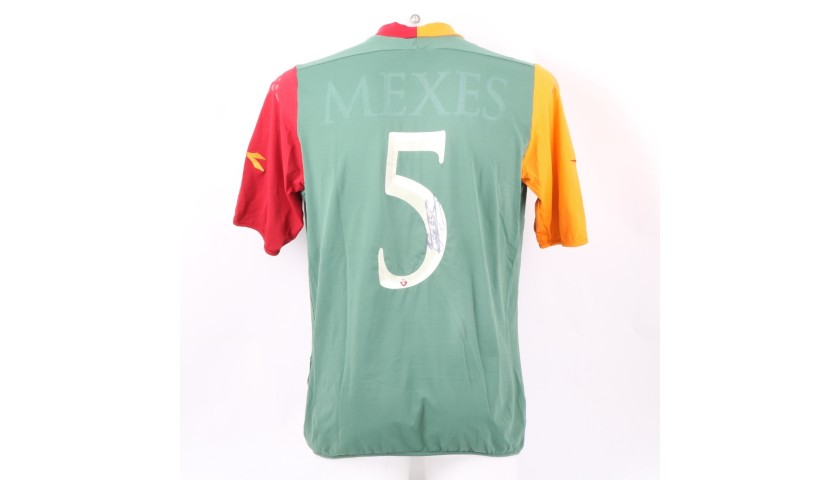 Mexes' Roma Match-Issue Signed Shirt, 2005/06