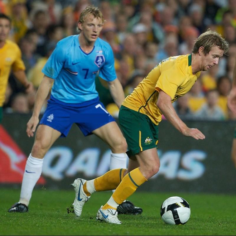 Kuyt's Match-Issue Shirt, Australia-Holland 2009