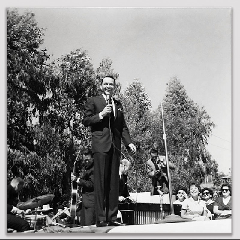 Vintage Frank Sinatra Negative and Print