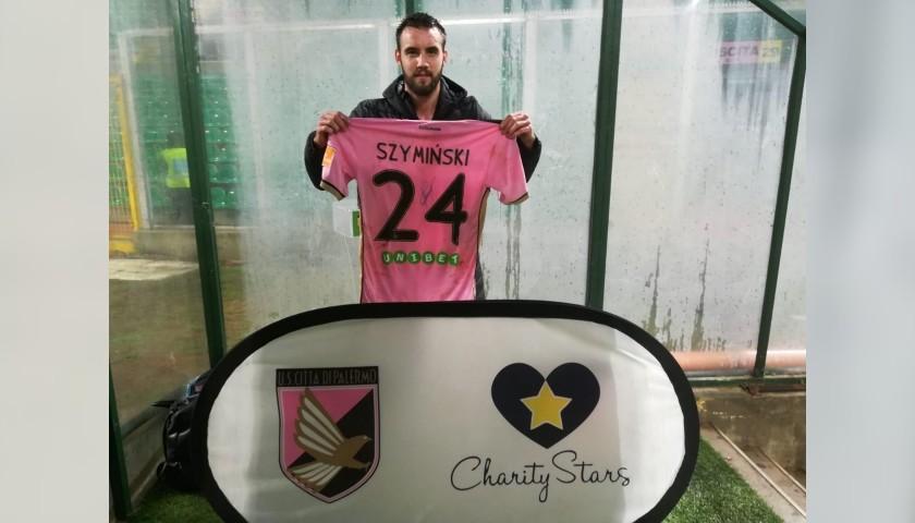 Szyminski's Worn and Signed Shirt, Palermo-Foggia 2019