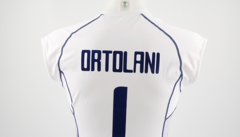 Match worn Ortolani shirt, Rio 2016 - signed