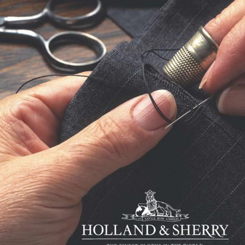 Hand made Barbaglio 1972 Holland & Sherry suit