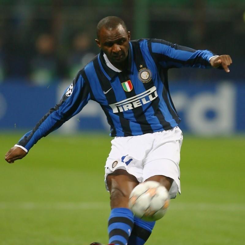 Vieira's Worn and Unwashed Shirt, Inter-Empoli 2008
