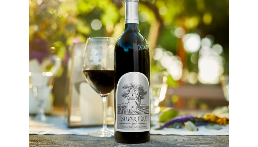 2014 Silver Oak Alexander Valley Cabernet Sauvignon 3.0 Liter, Signed by Winemaker Nate Weis