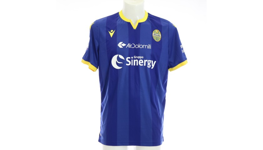 Verre's Match-Issued Shirt, Hellas Verona-Atalanta 2020