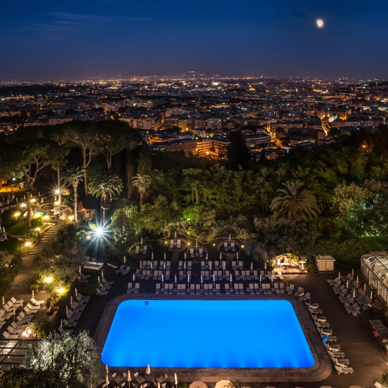 Luxury in Rome: Rome Cavalieri, A Waldorf Astoria Resort with Airfare