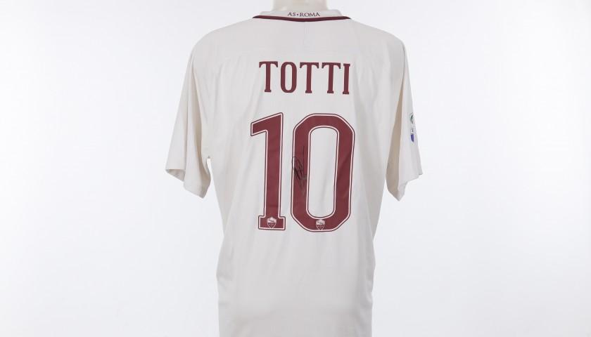 Francesco Totti's Signed Shirt,  2016/2017