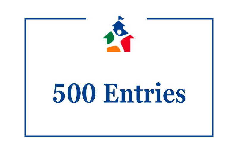 500 Entries