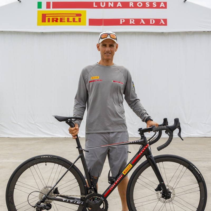 TITICI x LUNA ROSSA PRADA PIRELLI Limited Edition Bike – Model Used by Francesco Bruni