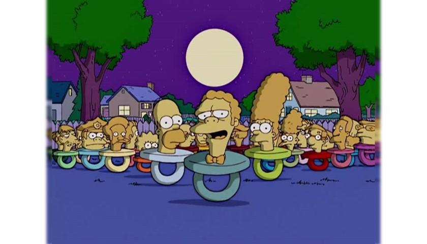 "The Simpsons Original Script - ""Treehouse Of Horror XVI"""