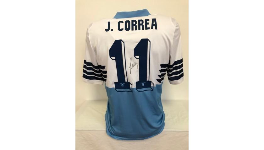 Correa's Lazio Signed Match Shirt, 2018/19