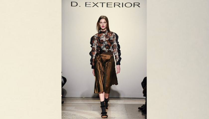 Attend the D.Exterior F/W 2019/20 Fashion Show