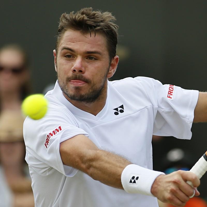 Stan Wawrinka's Signed Match Shirt, Wimbledon 2012