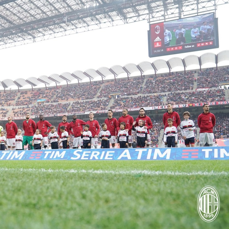 Be a Mascot for the Milan-Bologna Match
