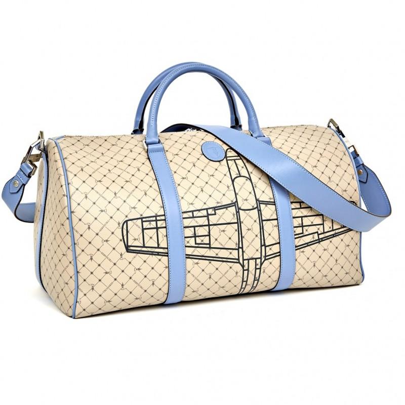 Trussardi Men's Monogram Duffle Bag