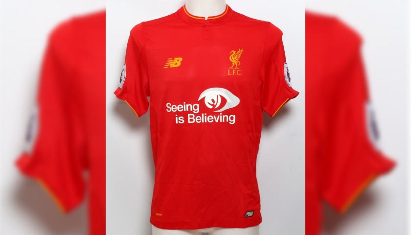 """new arrival 1756e bacd3 Danny Ings Signed Limited Edition """"Seeing is Believing"""" 2016 ..."""