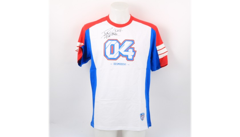 DesmoDovi T-Shirt - Signed by Andrea Dovizioso
