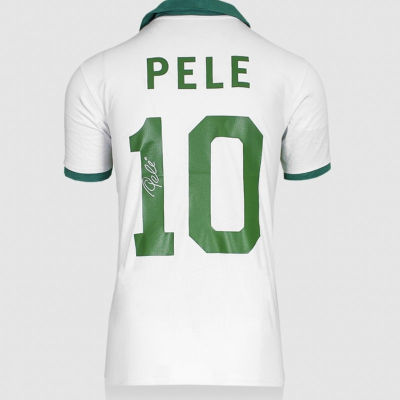 Pele's New York Cosmos Signed Shirt