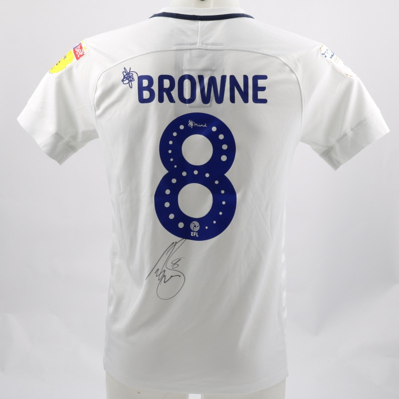 Browne's Preston Worn and Signed Poppy Shirt