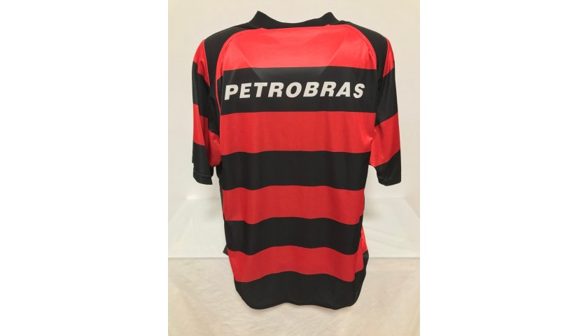 Official Flamengo Shirt, 2002/03 - Signed by Zico