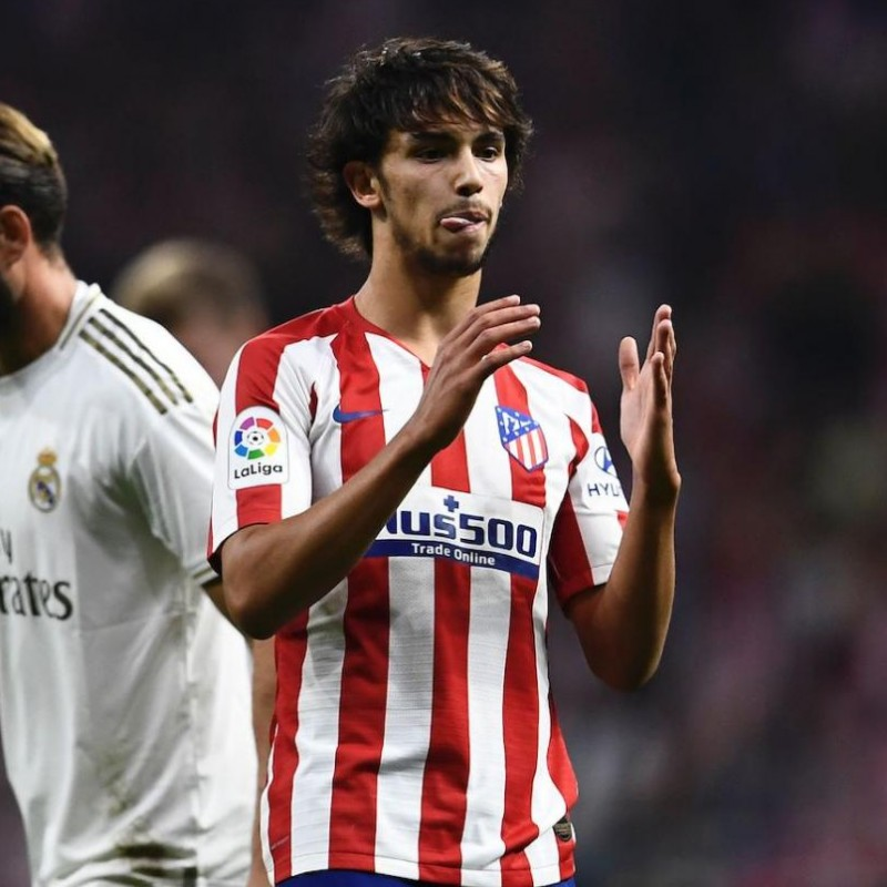 Joao Felix's Match Shirt, Atletico Madrid-Real Madrid 2019