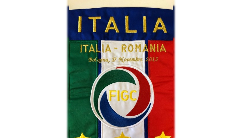 Official Pennant, Italy-Romania 2015