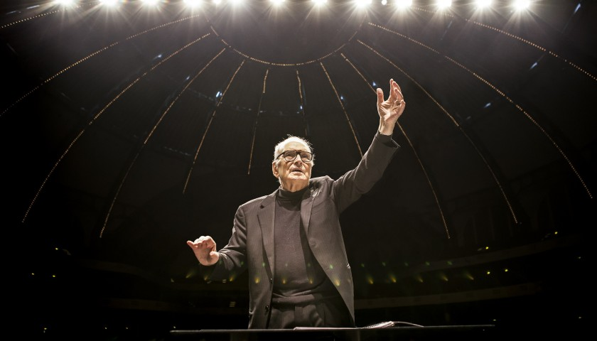 Meet and Greet with Ennio Morricone at his Concert