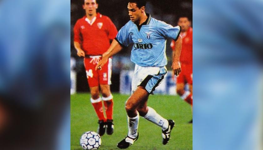 Nesta's Official Lazio Signed Shirt, 1996/97