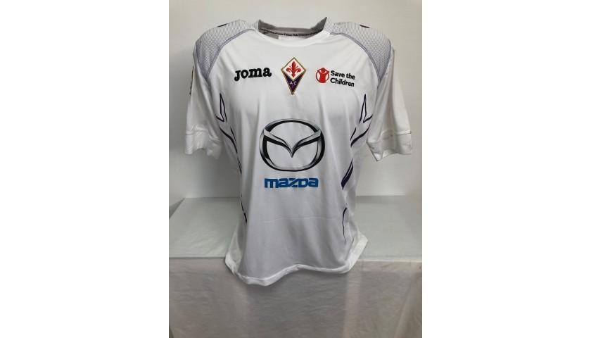 Maglia Ufficiale Toni Fiorentina, 2012/13 - Autografata
