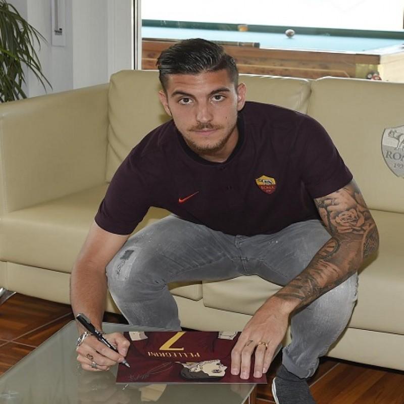 Signed Illustration of Footballer Lorenzo Pellegrini