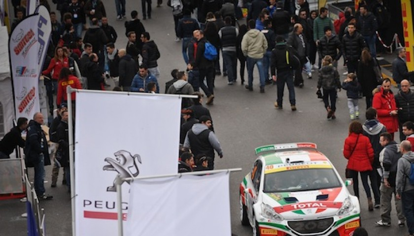 """Paolo Andreucci gives you the """"Special Edition"""" racing suit worn and signed during the Monza Rally Show"""