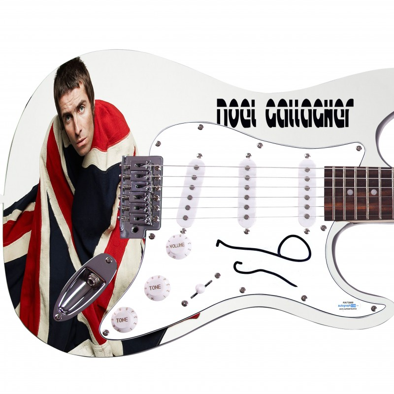 "Noel Gallagher ""Oasis"" Hand Signed Guitar"