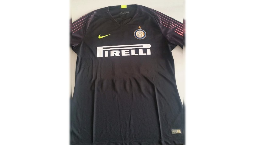 Padelli's Inter Worn and Signed Shirt, 2018/19