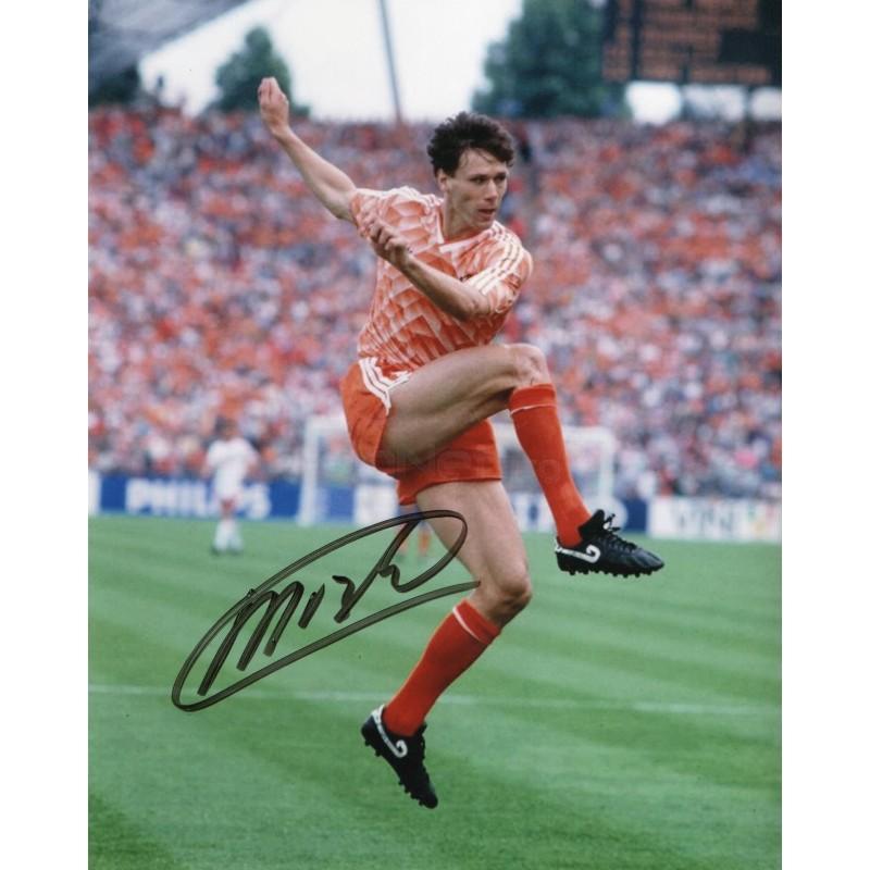 Marco Van Basten Signed Photograph