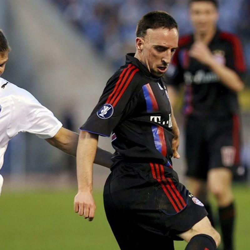 Ribery's Official Bayern Munich Signed Shirt, 2007/08