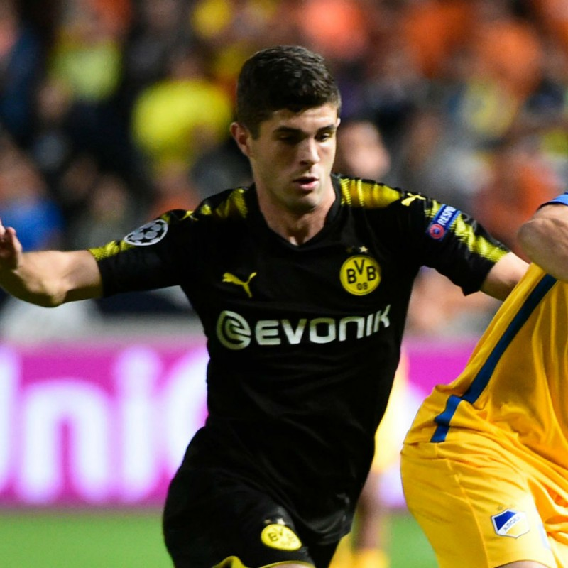 Pulisic's Match Shirt, Apoel-Borussia 2017/18