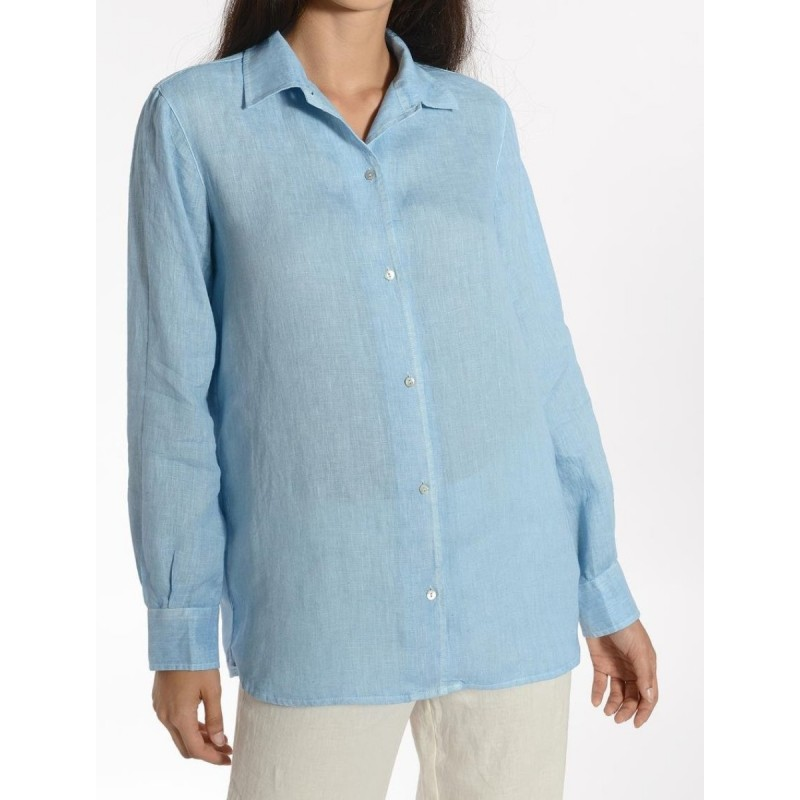 PACIFIC BLUE Women's Shirt by 120% Lino