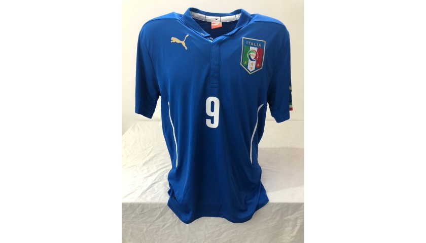 Balotelli's Official Italy Signed Shirt, 2014