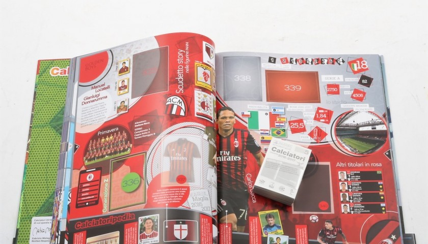 Gianluca Caprari, Limited Edition Box and Signed Panini Maxi Sticker