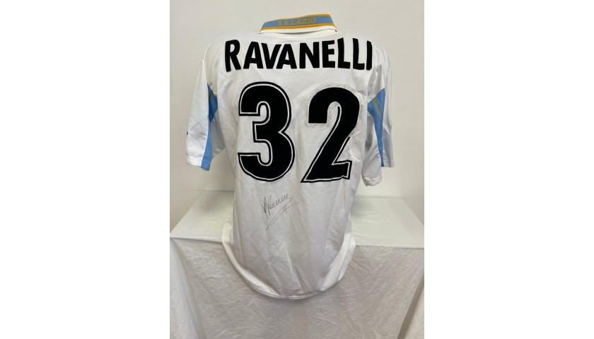Ravanelli's Official Lazio  Signed Shirt, 2000/01