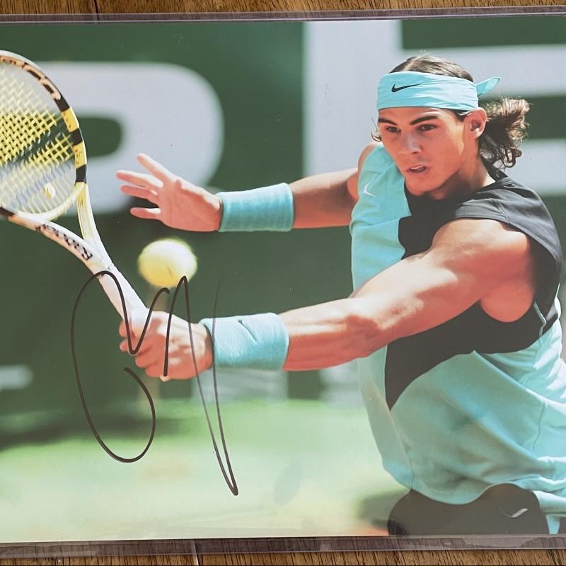 Rafael Nadal Signed Photo