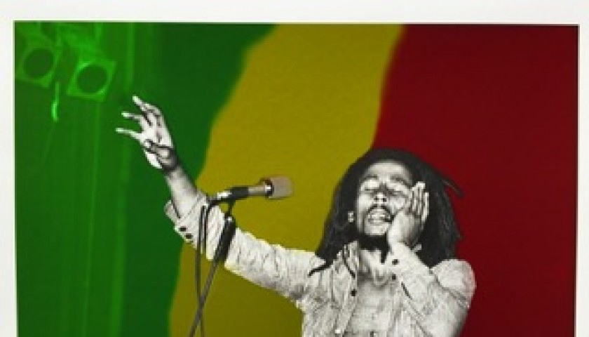 """Bob Marley"" by Richard Aaron"